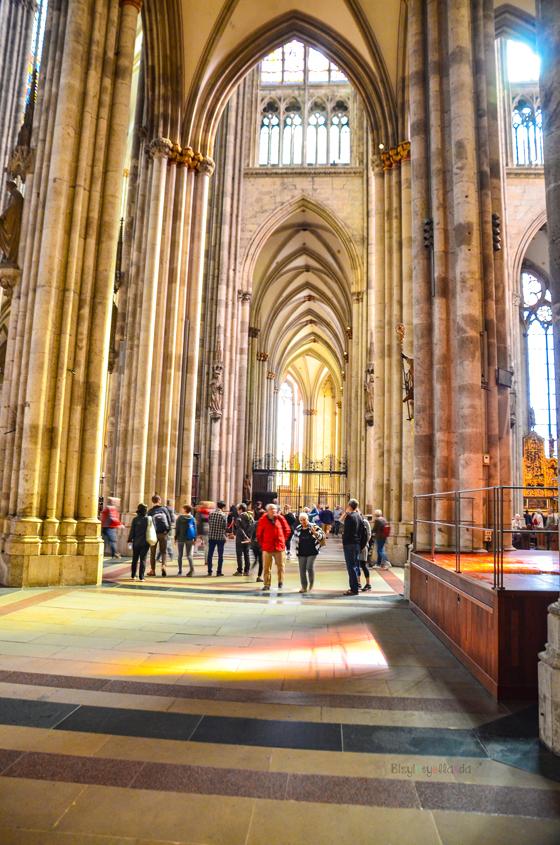 Köln Katedrali İç Kısım