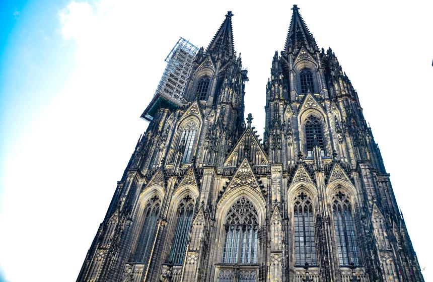 Köln Dom Katedrali Kuleler