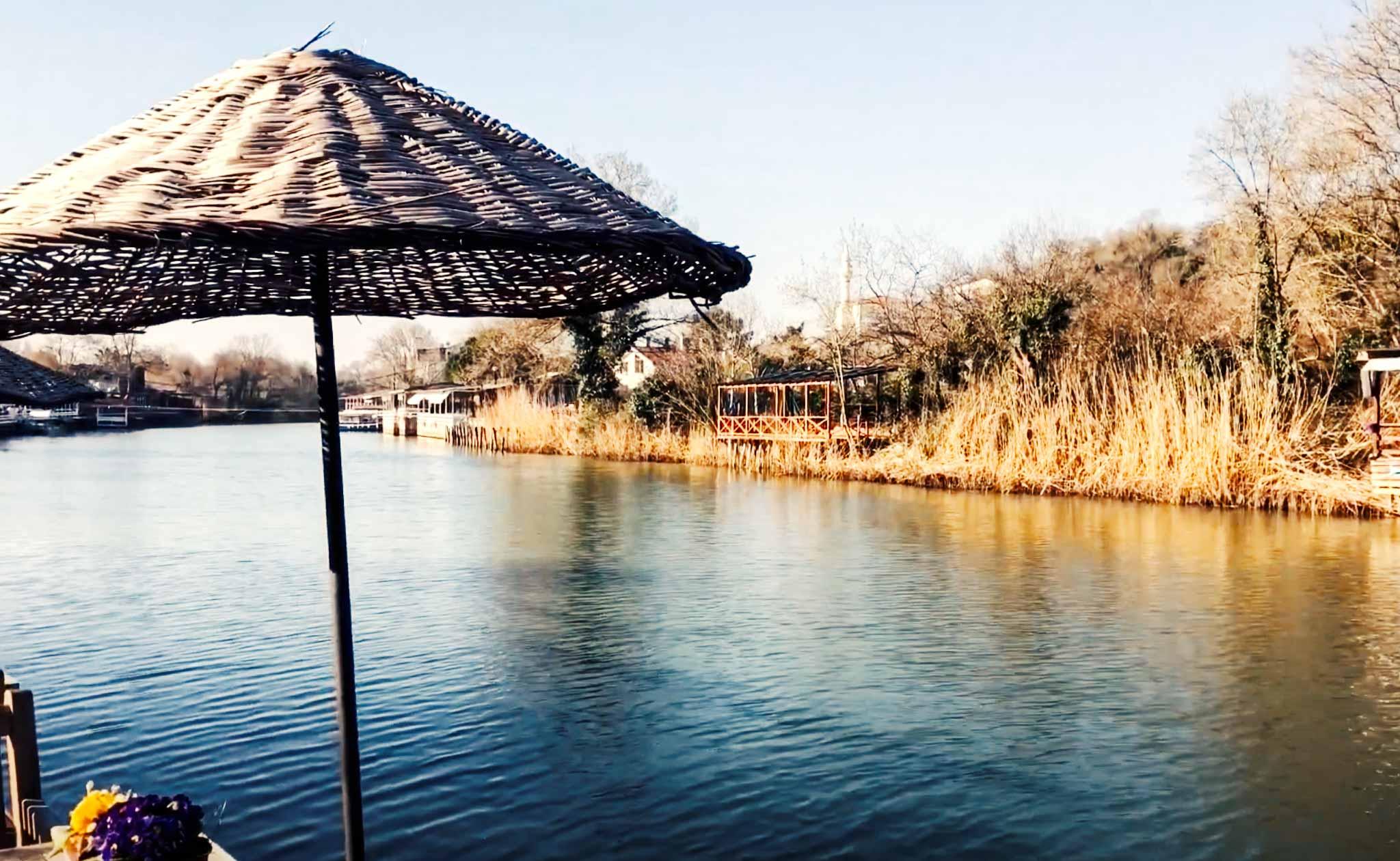 Ağva deresi su aktiviteleri, restoran ve cafeler