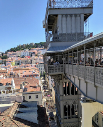 Ünlü Lizbon Asansörü